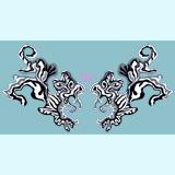 翼と微妙な白虎