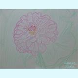 わたしの筆「花20121026」